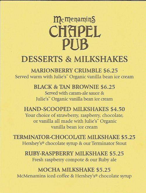 mcm desserts